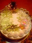 今年のクリスマスケーキは…